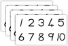 Desk Cards - Number Symbols 1-10 (A3) GrR&1  JK2304-Pa